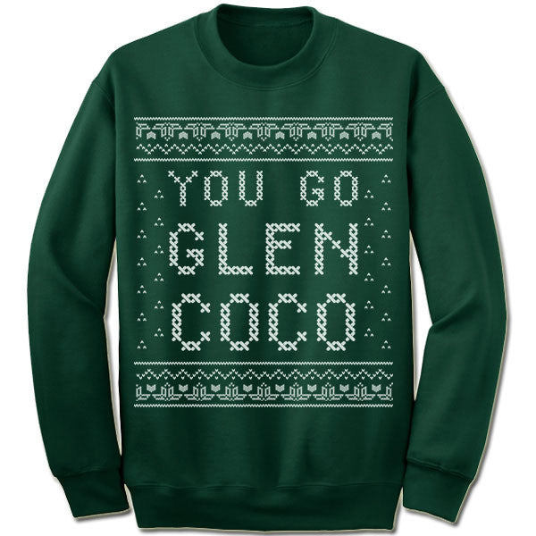 You Go Glen Coco Ugly Christmas Sweater.