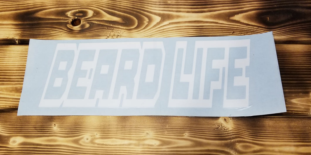 Beard Life Decal