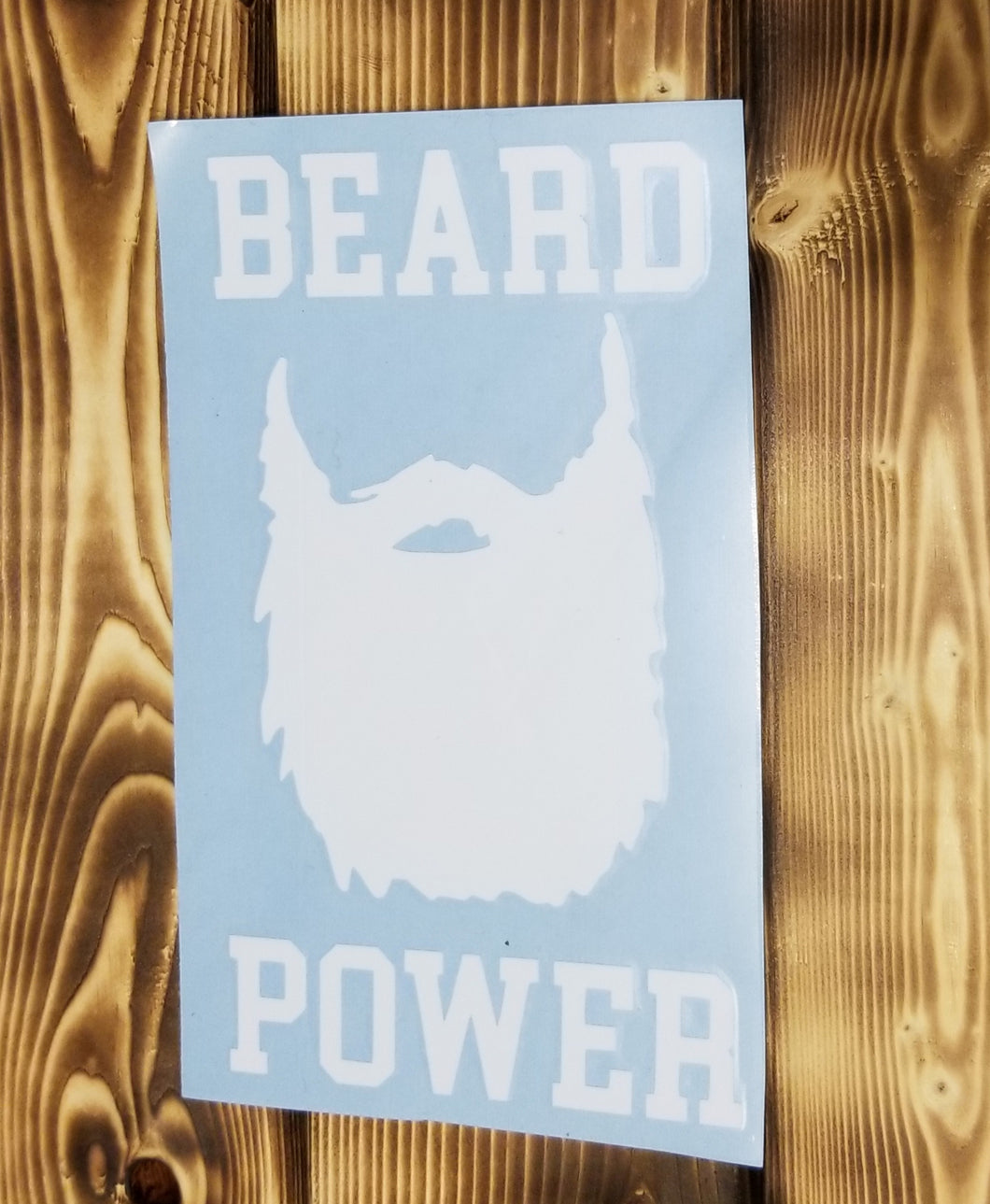 Beard Power Decal