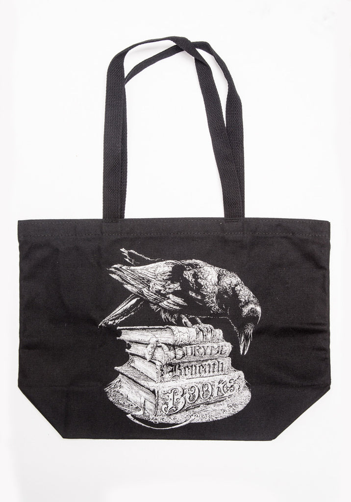 Bury Me Beneath Books: BookWorm Tote