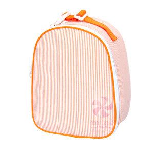 Boys Monogrammed Gumdrop Lunch Tote- Multiple Colors Available