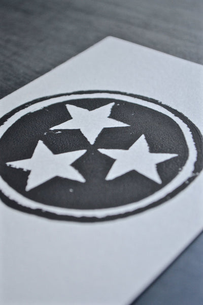 Tennessee Tristar Ink Print by Charleston + Co.