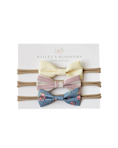 Vivian Linen Bow Variety Pack