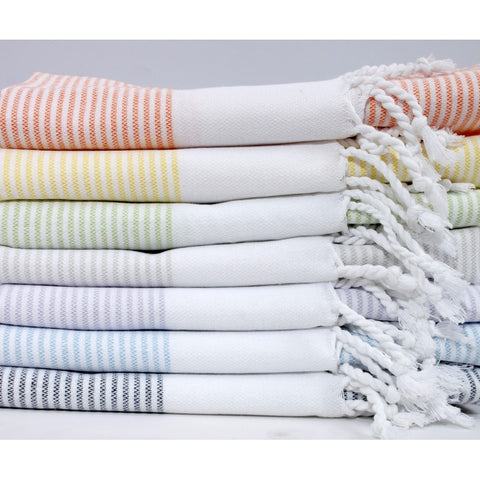 Turkish Striped Hand Towel