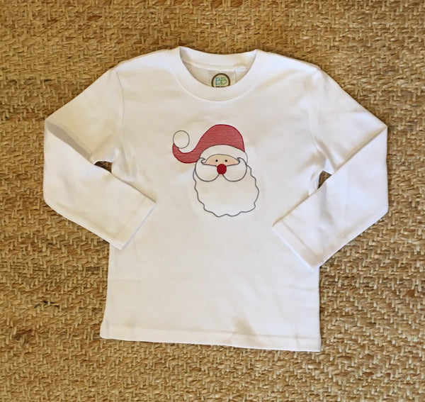 Boys Santa Long-Sleeved Shirt