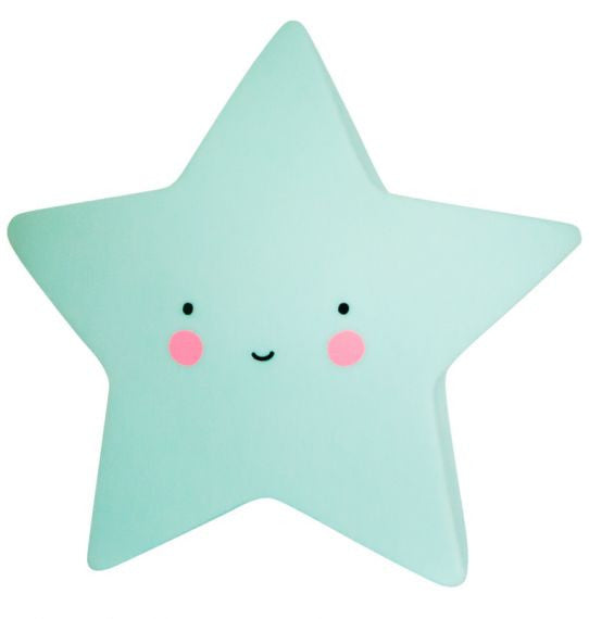 Mini Star Nightlight in Mint