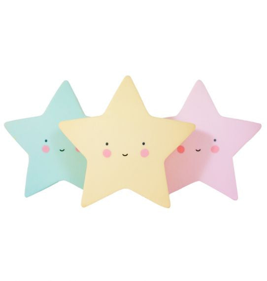 Mini Star Nightlight in Yellow