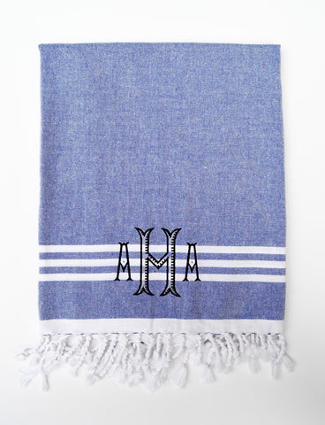 Turkish Beach Towels- Multiple Colors Available