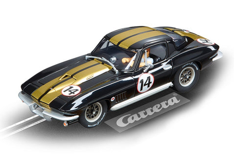 "Carrera 27464 Chevrolet Corvette Sting Ray ""No.14"", Evolution 1/32"