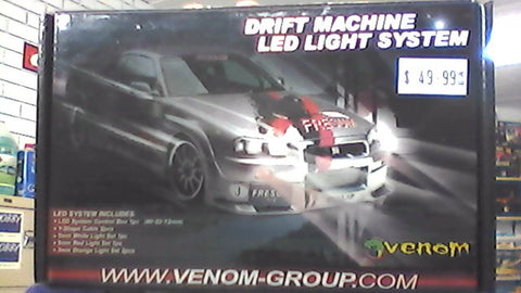 Venom Drift Machine LED Light Set