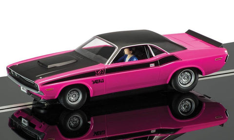 Scalextric C3537 Dodge Challenger, Panther Pink road car
