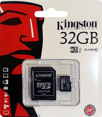 KINGSTON MICROSD HC CARD 32GB CLASS 10