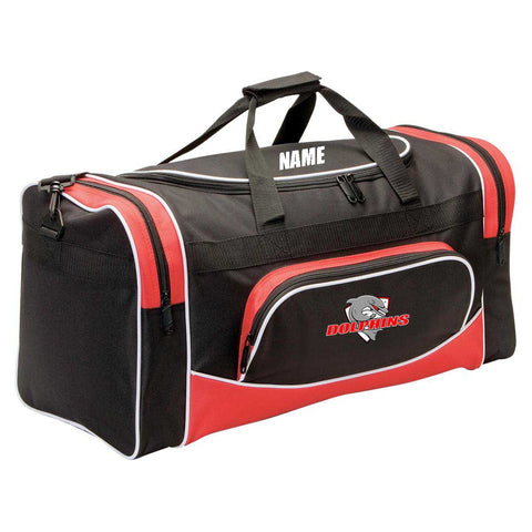 Customised Dolphins Sports Bag