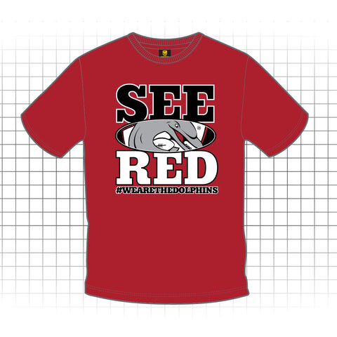 See Red Supporters Tee