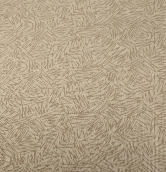 Beige/Grey: Coral Tree Fabrics - Tea