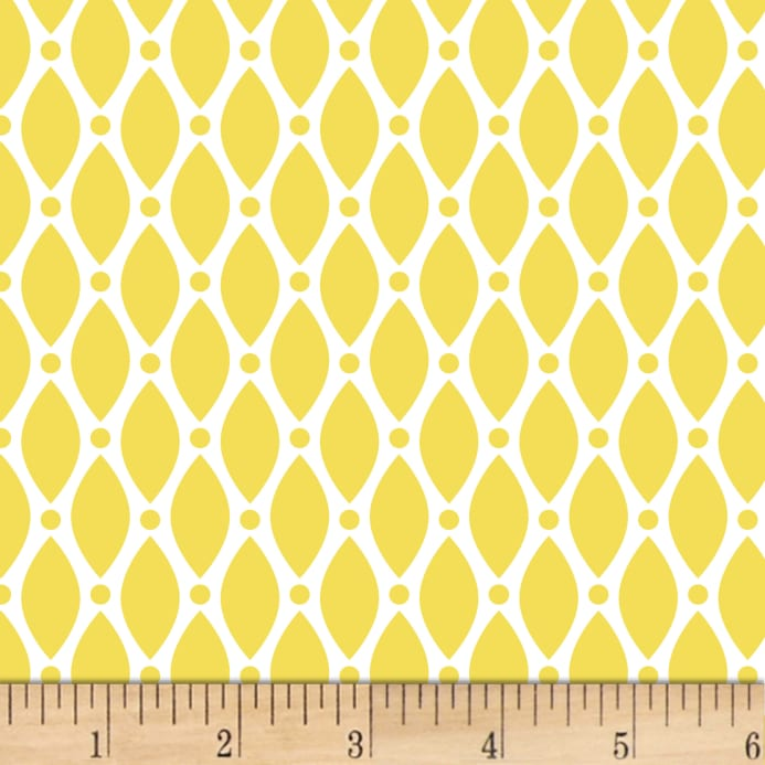 Yellow/Mustard: Duo Retro by Stof Fabrics