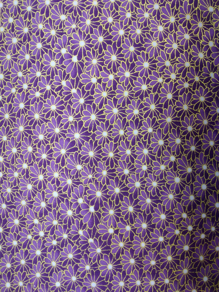 Japanese fabric Miko 03 Purple