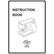 Instruction Manual: Janome 6019QC