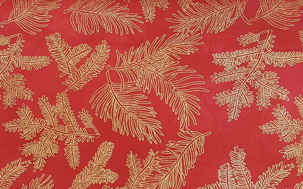 Orange/Red: Gold Fern