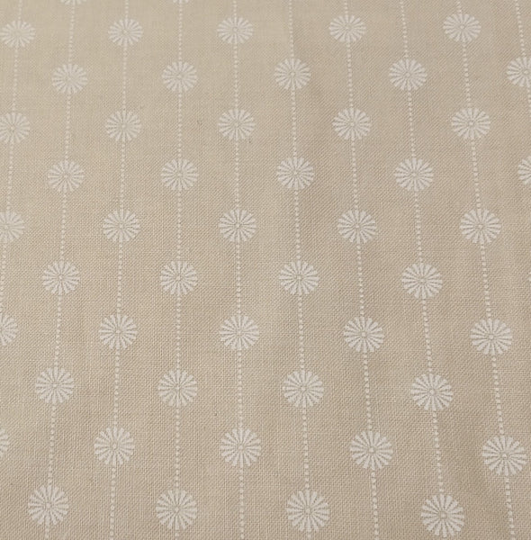 Beige/Grey: Ice Tea Daisy by Gingerlily studio