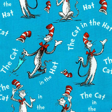 Blues: The Cat in the Hat on Blue