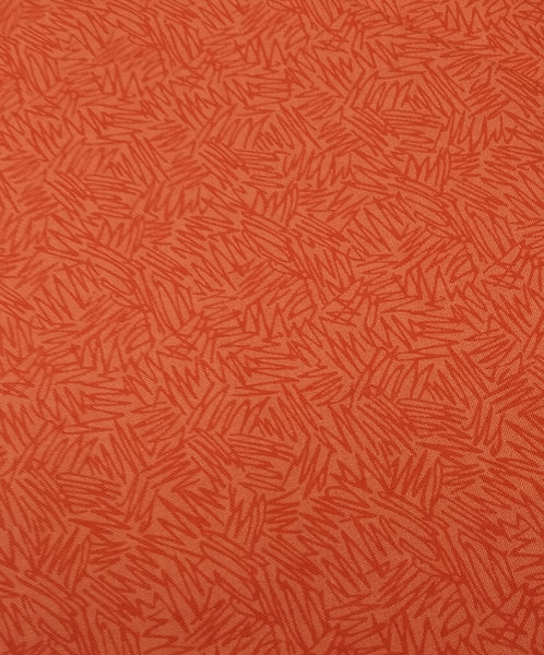 Orange/Red: Coral Tree Fabric Bright Coral