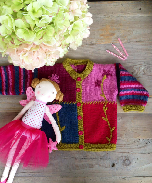 Touch: Child's Patchwork Cardigan