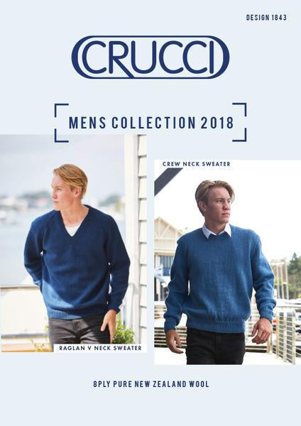 Crucci Pattern Mens collection 1843