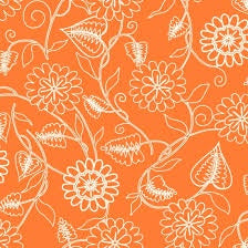 Orange/Red: Clean living by Barbara jones 6693