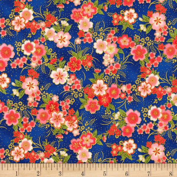 Japanese Fabric: Imperial collection Kaufman Tiny flower