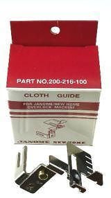 Janome Cloth Guide For overlocker