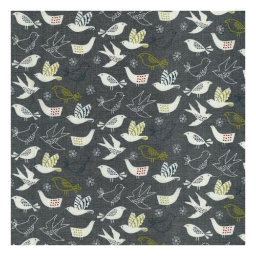 Printed Cottons Wildwood Birds