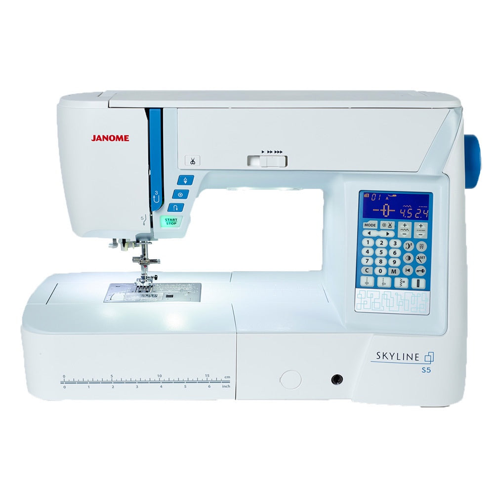 Janome Skyline S5 – Wellington Sewing Centre 669a37a03da61