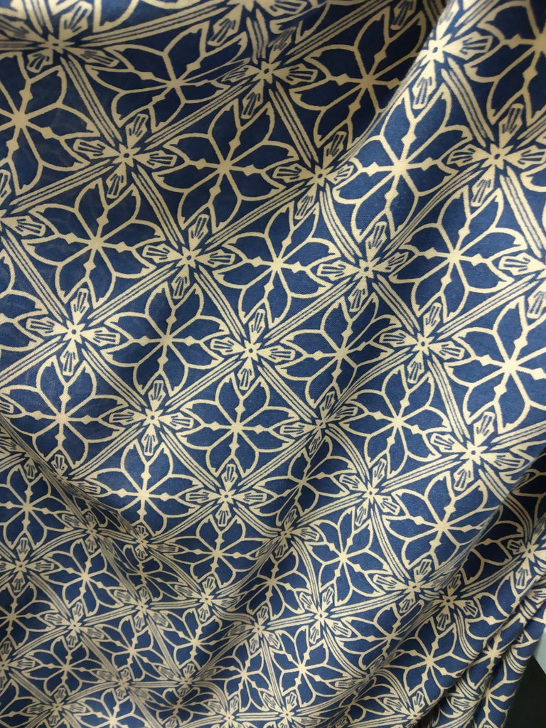 Dress Fabric: Tiled