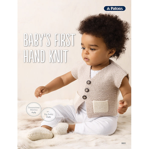 Patons: Baby's First Hand Knit