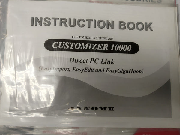 Instruction Manual: Customizer 10000