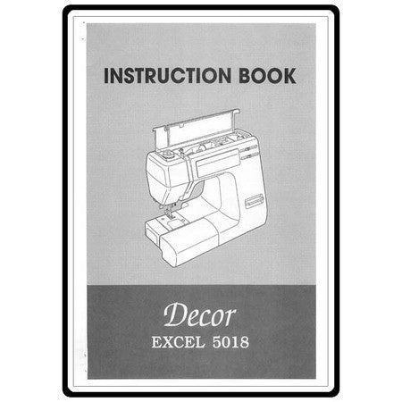 Instruction Manual: Janome 5018