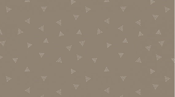 Beige/Grey: Dear Stella - Triangle Dots Silt