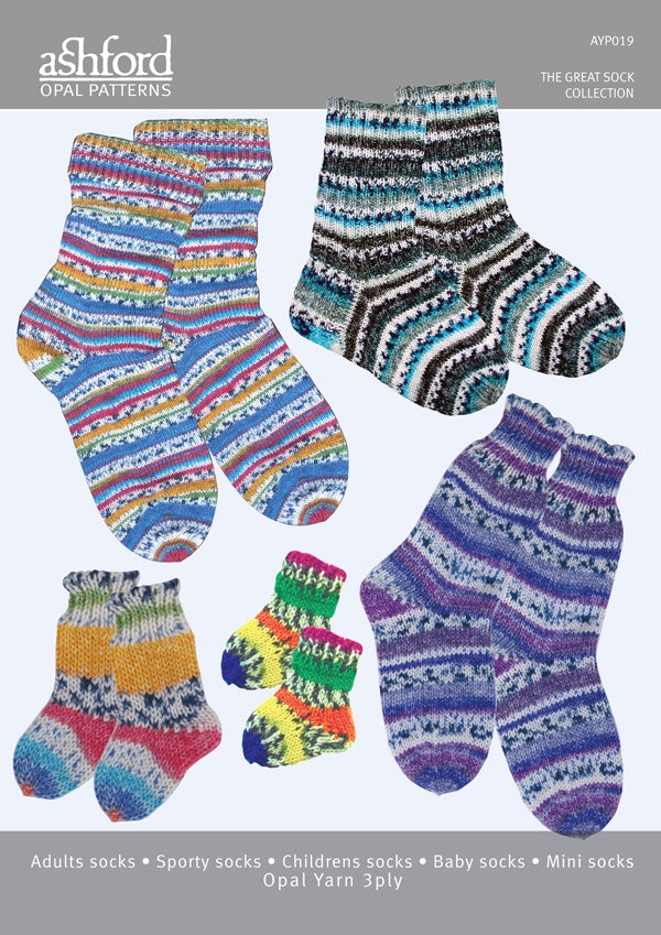 Ashford Great sock Collection AYP019