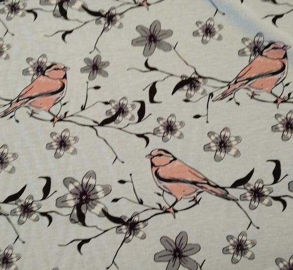 Dress Fabric:  Beautiful Birds