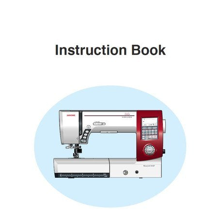 Instruction Manual: Janome MC7700
