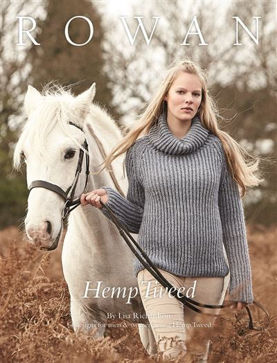Rowan Yarns: Hemp Tweed by Lisa Richardson