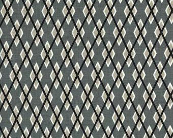 Beige/Grey: Argyle Me by Michael Miller