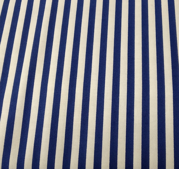 Printed Cotton: Timeless Treasures of Soho - Stripe