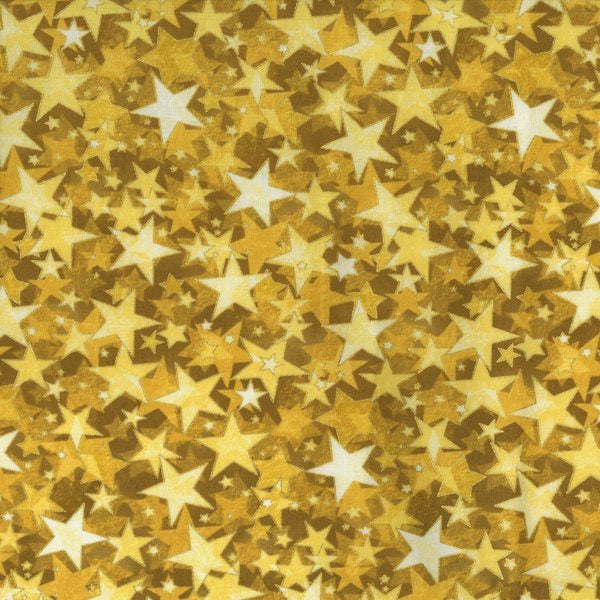 Yellow/Mustard Holliday Accents Gold Star