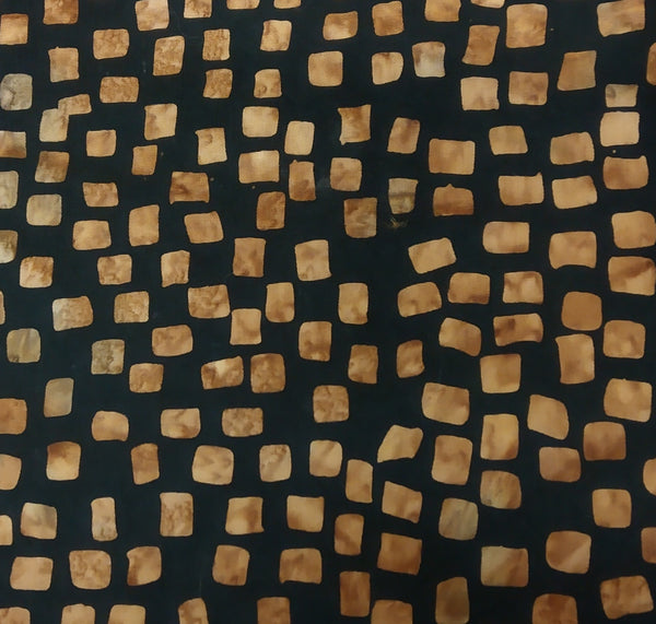 Brown/Neutral: Batik Squares