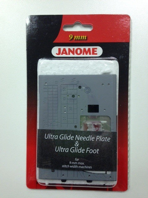 Janome Ultra Glide Needle plate and foot