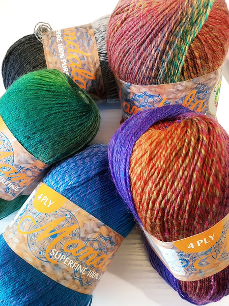 Country Wide: Mandala 4ply