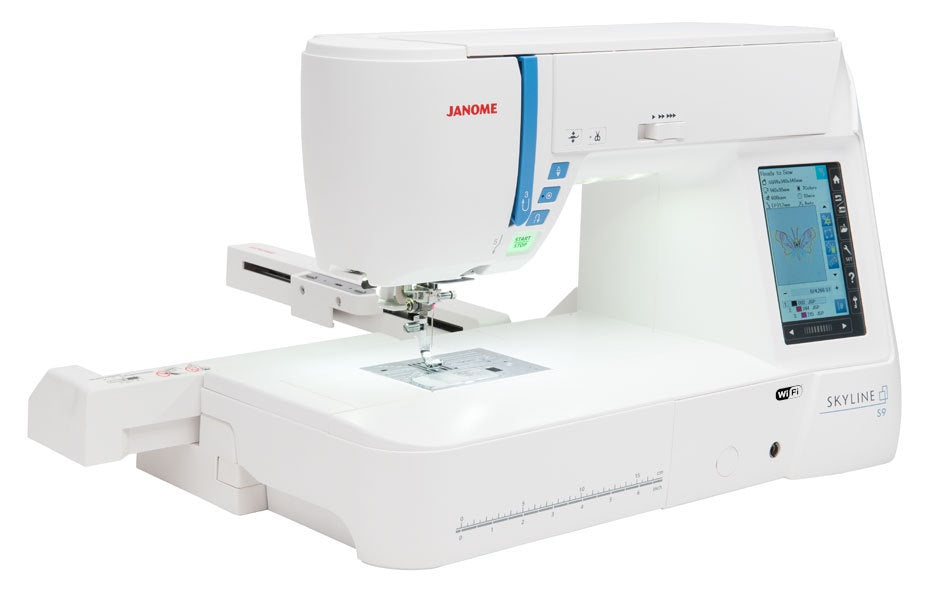 Janome Skyline S9 - with Design CD ( 359 value) – Wellington Sewing Centre 6c28cda17368d