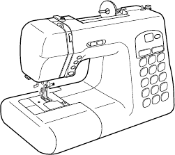 Instruction manual: Janome DC4030